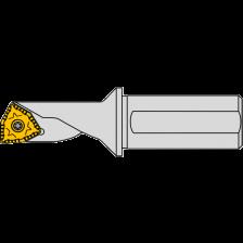PTR08-2,25D-04 Pentatec boor-draaibeitel 6406400