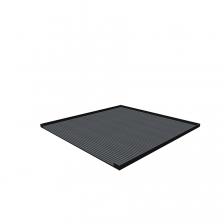 Afdekblad met mat 717x725x20mm