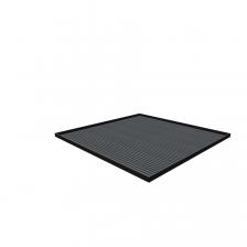 Afdekblad met mat-717x725x25mm