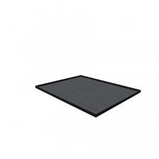 Afdekblad met mat-564x725x25mm