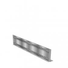 Gleufschot-27E/456x75 mm