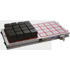 Magneetplaat 425x415 mm met 16 polen 75x75 voor 12.800 daN