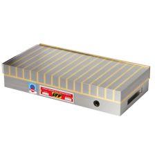 Magneetplaat dwarspool 150N/cm² 180x104x54 messing 28.080N