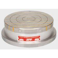 Ronde magneetplaat 203 met AlNiCo V magneetpolen Ø100 mm