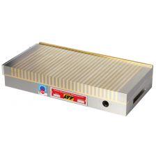Magneetplaat dwarspool 80N/cm² 180x104x49 mm messing 14.970N