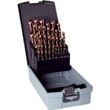 71019 set 1-10 mm met 19 stuks 71018 HSS-M42 brons VAP