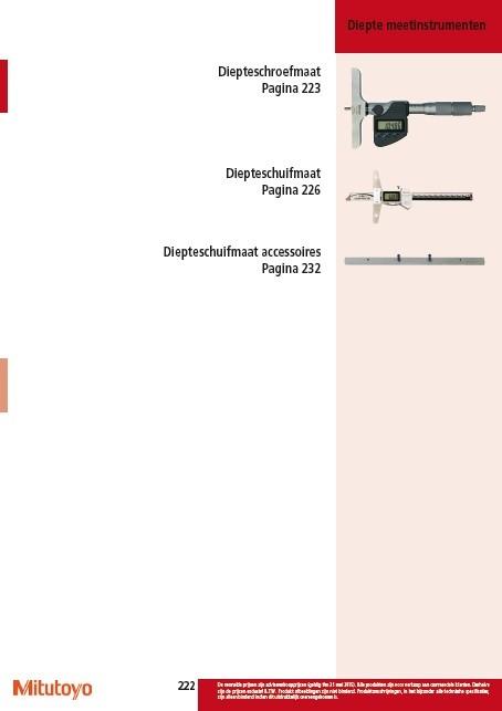 Dieptemeetinstrumenten