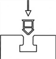 plaatsing schematisch