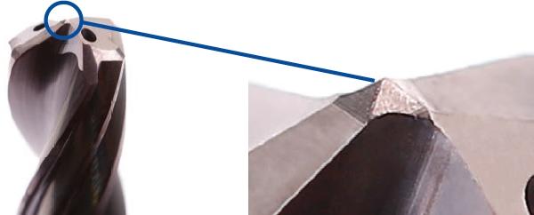 DrillReamer piramidepunt
