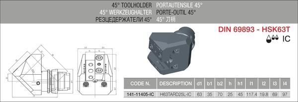 IC-TOOLTEK H63TARD25
