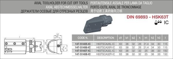 IC-TOOLTEK H63TSCA