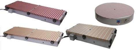 magneetplaten met dwarspolen, elektropermanent