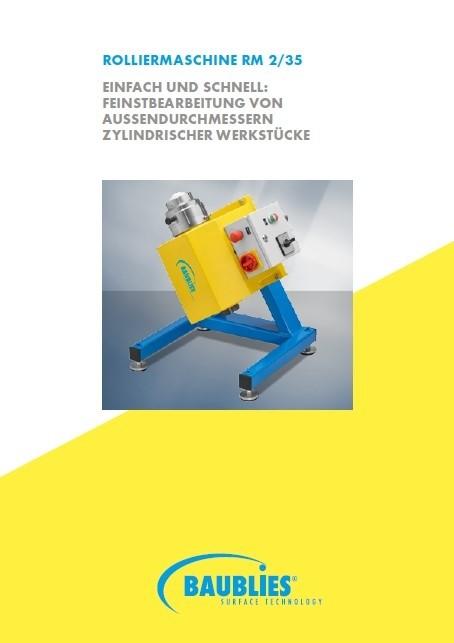 Gladrolmachine RM2/35